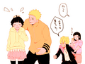 NaruHina Family - naruhina fan art