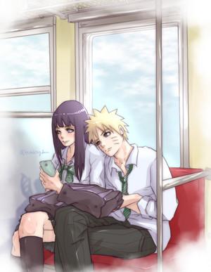 火影忍者 Uzumaki and Hinata Hyuga