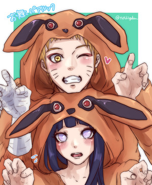 নারুত Uzumaki and Hinata Hyuga