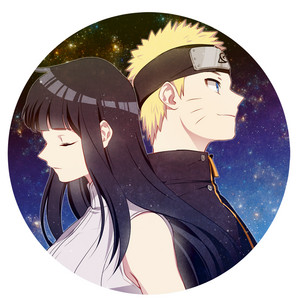 Naruto Uzumaki and Hinata Hyuga