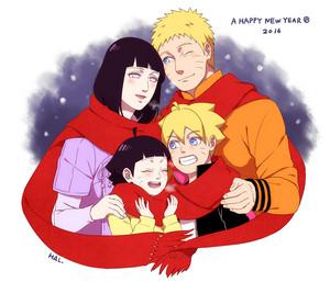 NARUTO -ナルト- and Hinata family