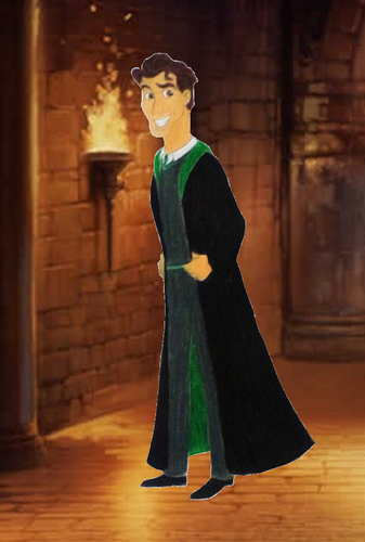 Childhood Animated Movie Characters wallpaper entitled Naveen in Slytherin