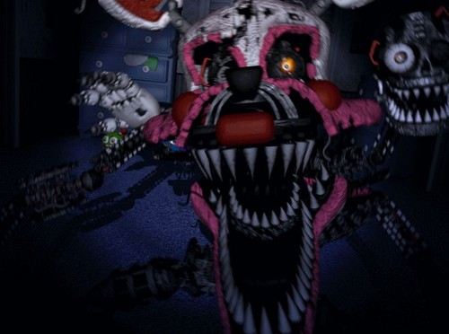 Five Nights at Freddy's kertas dinding possibly with Anime called Nightmare Mangle