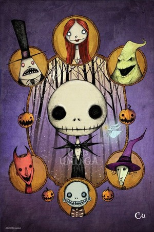 Nightmare before বড়দিন দ্বারা Christopher Uminga