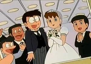 Nobita weds Shizuka