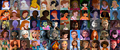 Non Disney Heroines Collage - childhood-animated-movie-heroines photo