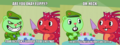 Oh, heck. I'm just fascinated in your cake cutter. - happy-tree-friends photo