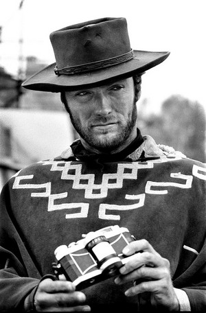 On the set of For A Few Dollars More