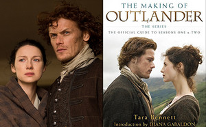 """Outlander """"The Making of Outlander"""" book cover picture"""