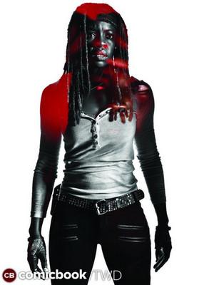Character Portrait #3 ~ Michonne