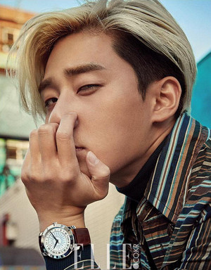 PARK SEO JOON IS UNRESTRAINED IN OCTOBER ELLE
