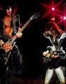 Paul and Ace ~Fort Worth, Texas…August 11, 1976 - kiss photo