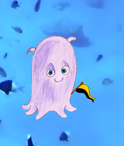 Childhood Animated Movie Characters wallpaper called Pearl in Hufflepuff