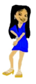 Penny Proud is Beautiful Blue Dress
