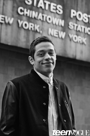 Pete Davidson - Teen Vogue Photoshoot - January 2015