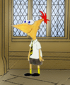 Phineas in Hufflepuff
