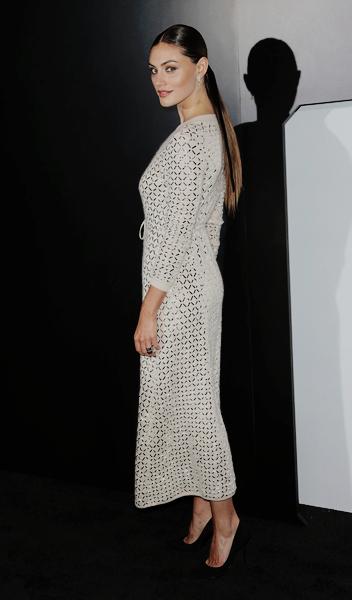 Phoebe Tonkinattends Chanel Dinner Celebrating N 5 L'Eau at the Sunset Tower Hotel on September 22
