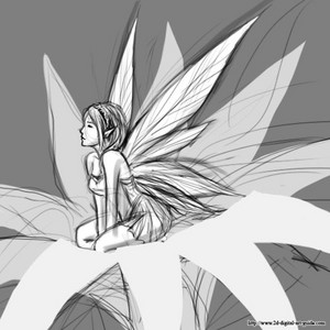 Pixie Drawing
