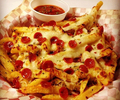 Pizza Fries - french-fries photo