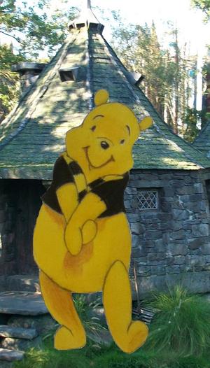Pooh in Hufflepuff