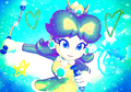 Princess Blue Daisy - princess-daisy fan art