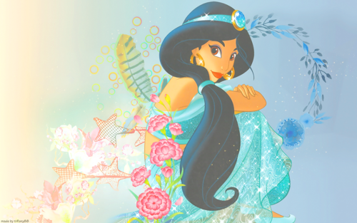 putri disney wallpaper titled Princess melati