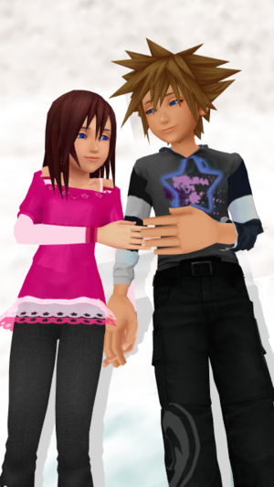 Promise Inside Our Hearts SoKai Day Sora x Kairi