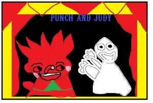 パンチ and Judy 表示する - パンチ and The Ghost