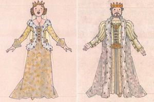 কুইন Marie and King Francis - Ever After musical concept art