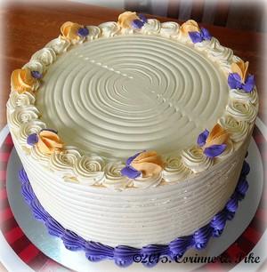 Queso Ube cake