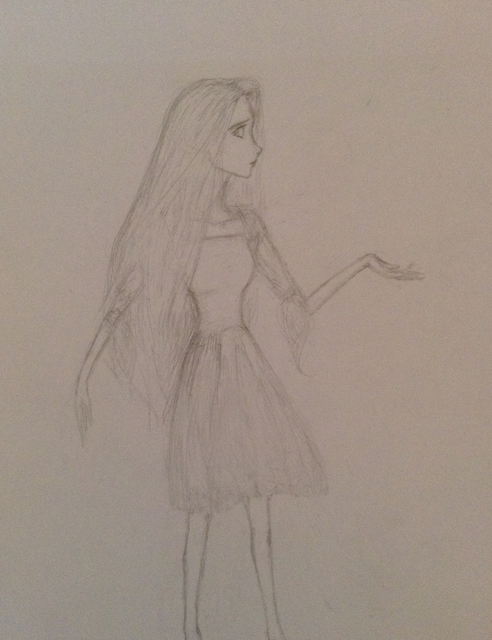 Rapunzel Drawing