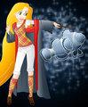 Rapunzel in Hogwarts