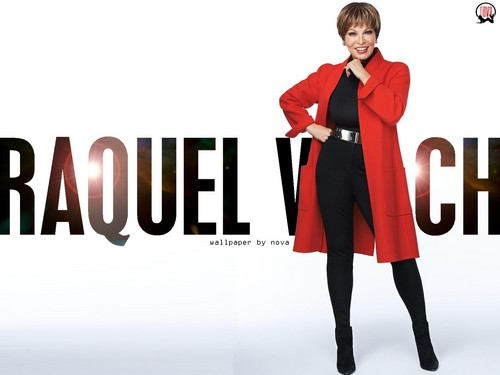 Raquel Welch wallpaper containing a well dressed person called Raquel Welch