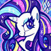 Rarity Profile pic - rarity-the-unicorn icon
