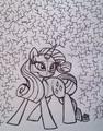 Rarity - my-little-pony-friendship-is-magic fan art