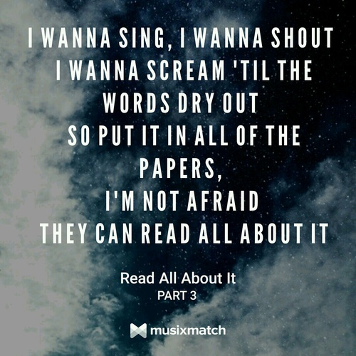 Emeli Sande wallpaper titled Read All About It