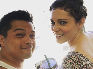Rebecca and Josh