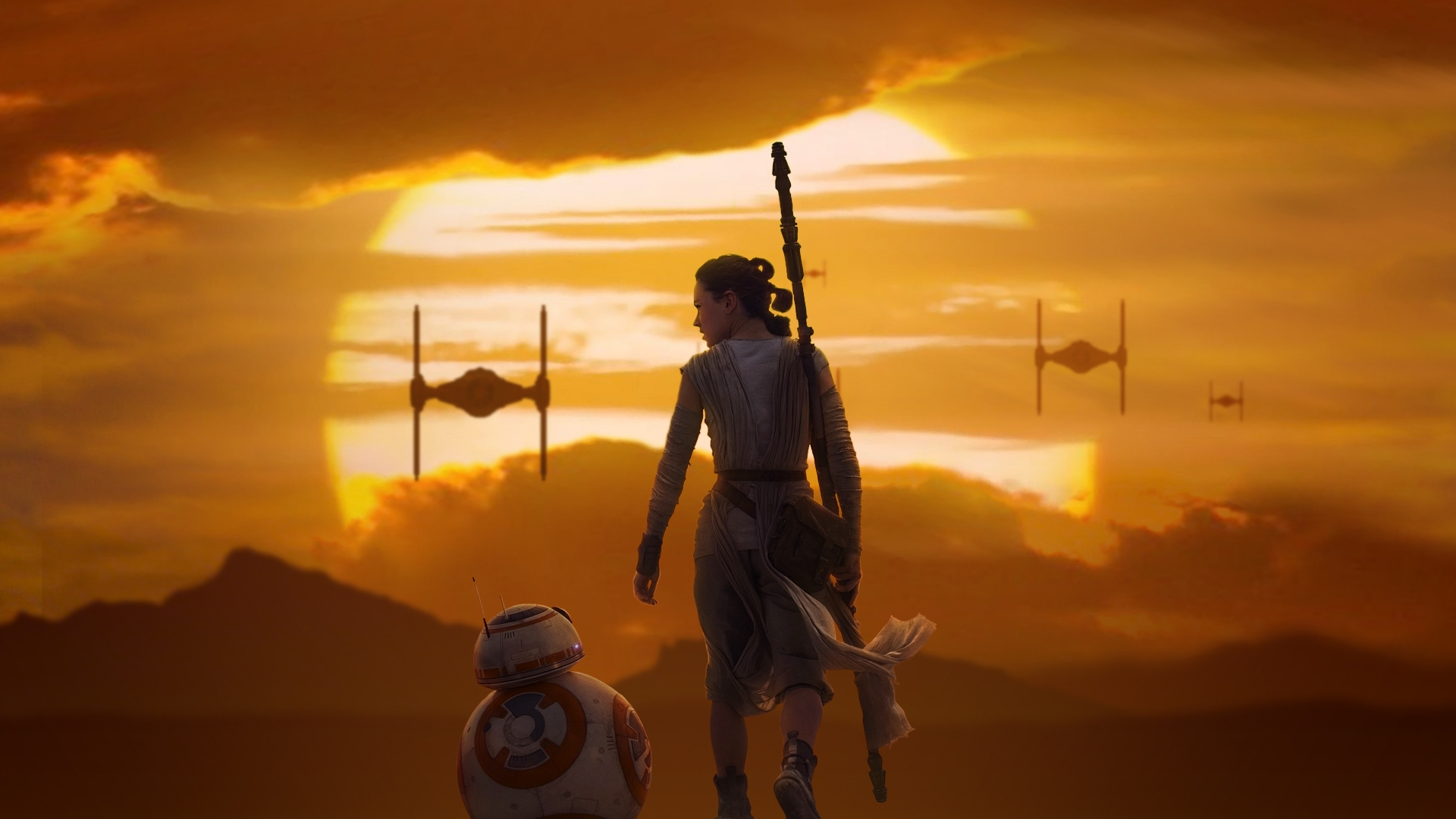 Rey Women Of Star Wars Wallpaper 39983126 Fanpop