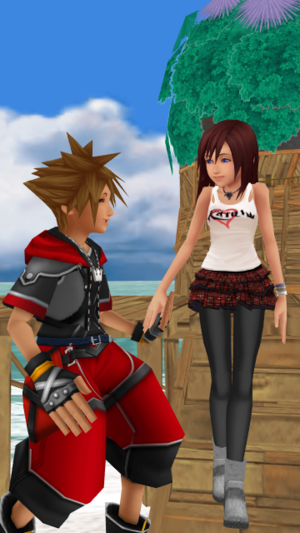 Right this way My Princess SoKai Day Sora x Kairi