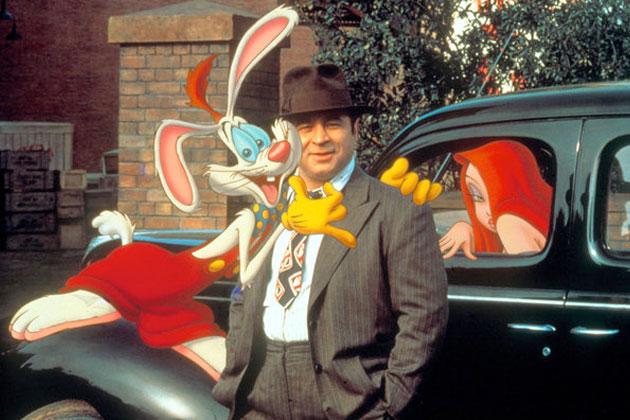 who framed roger rabbit? images Roger, Eddie, and Jessica wallpaper ...