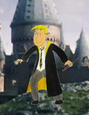 Ron Stoppable in Hufflepuff