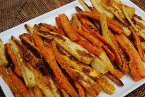 Root Vegetable Fries