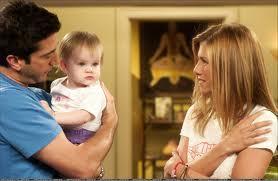 Ross  Rachel  and Emma 3
