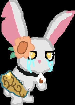 Sad chiot