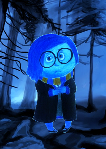 Childhood Animated Movie Characters wallpaper called Sadness in Ravenclaw