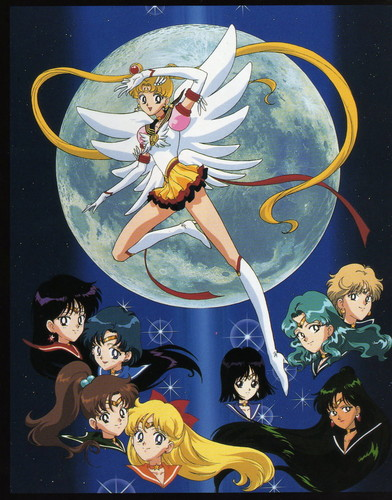 Sailor Moon Sailor Stars 壁纸 with 日本动漫 titled Sailor Moon Sailor Stars