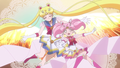 Sailor Moon and Chibimoon - sailor-moon photo