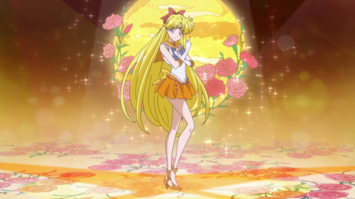 Sailor Moon wallpaper probably with a bouquet called Sailor Venus