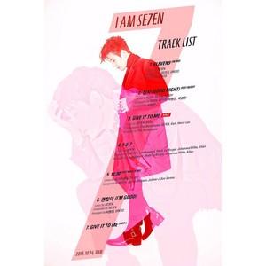 Se7en drops a track daftar for his upcoming new album!