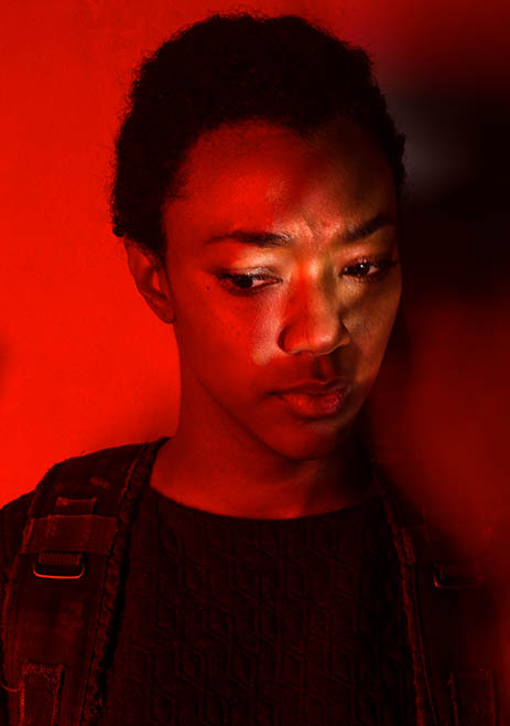 Season 7 Character Portrait ~ Sasha Williams
